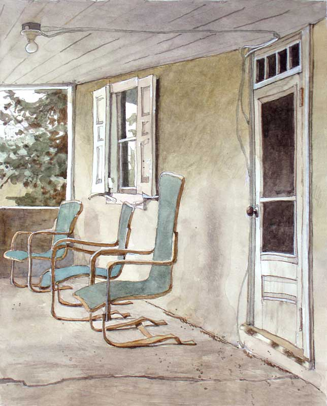 Across The Porch by Eddie Flotte
