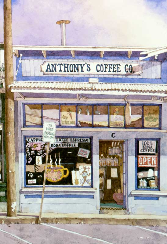 Anthony's Coffee by Eddie Flotte