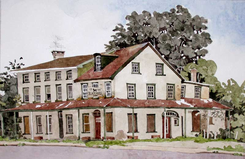 Black Horse Tavern by Eddie Flotte