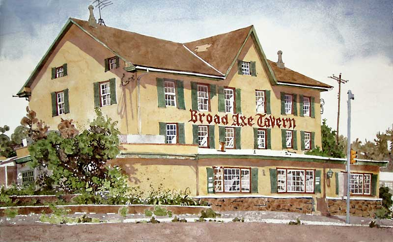 Broadaxe Tavern by Eddie Flotte