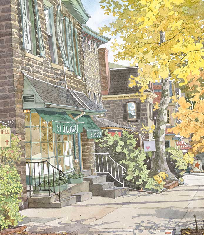 I Love Chestnut Hill by Eddie Flotte