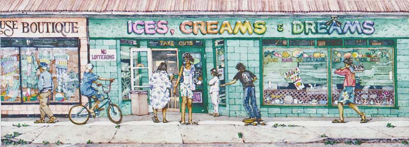Ices, Creams, and Dreams by Eddie Flotte