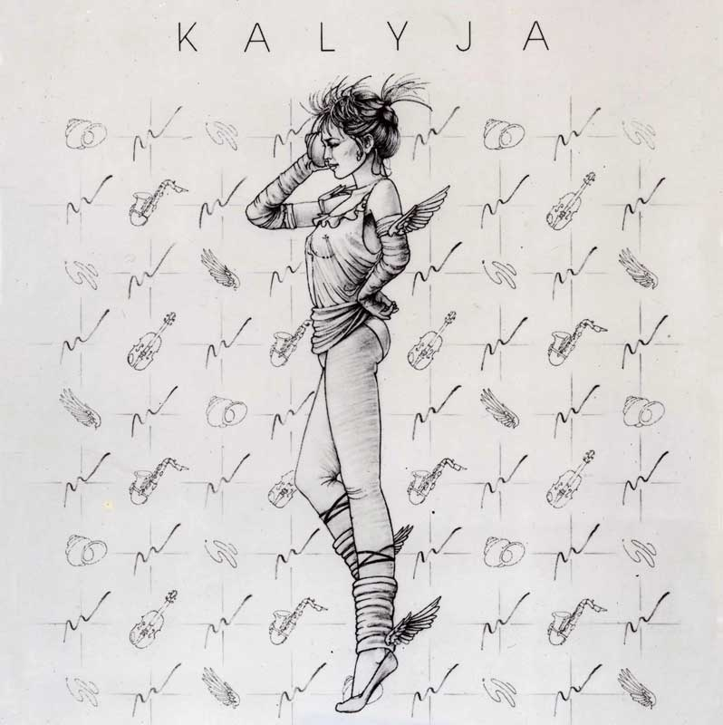 Kalyja Record Cover by Eddie Flotte