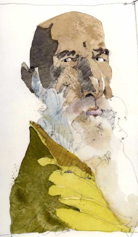 Man with a Beard by Eddie Flotte