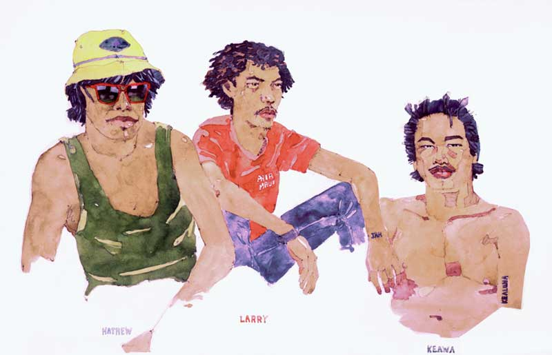 Paia Boys by Eddie Flotte