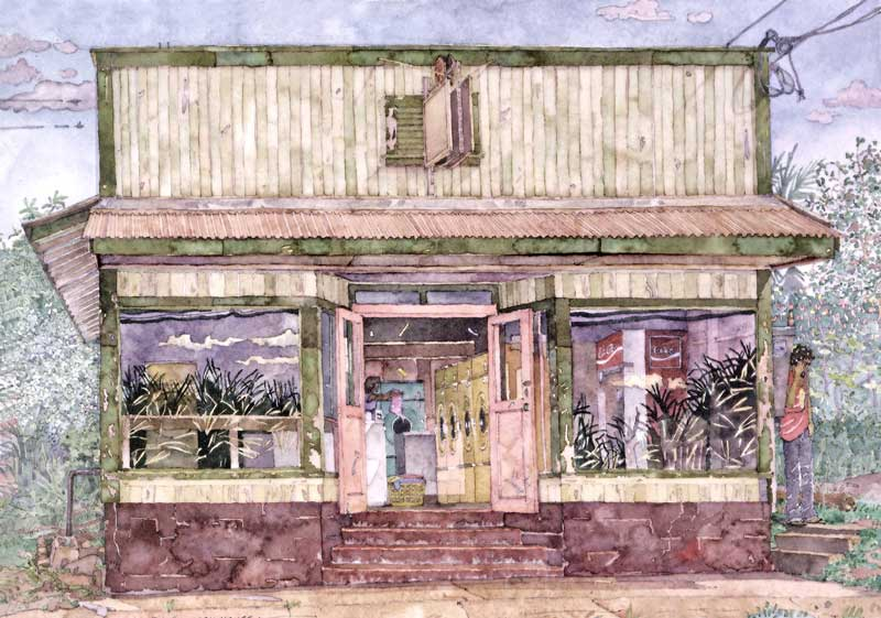 Paia Wash House by Eddie Flotte