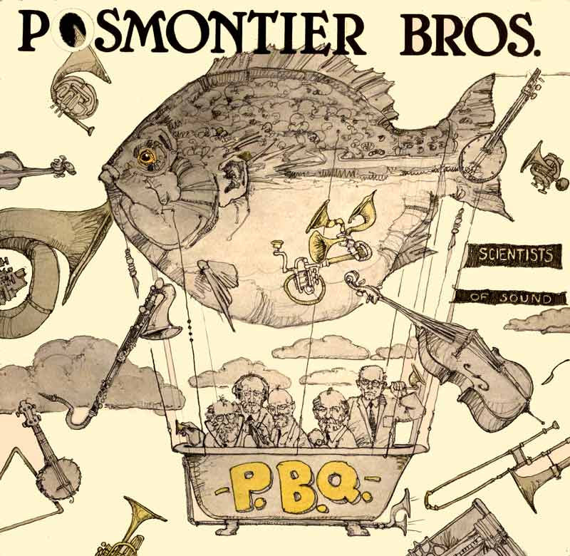 Postmontier Brothers Record Cover by Eddie Flotte