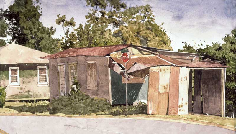 Sherman's Shed by Eddie Flotte