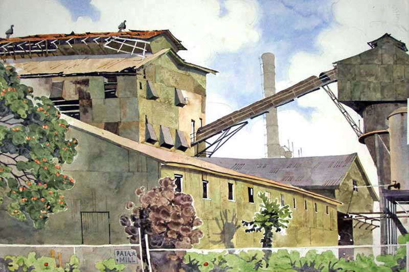 Sugar Mill Elevator by Eddie Flotte