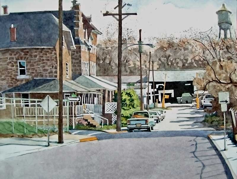 The Bottom of Main Street by Eddie Flotte