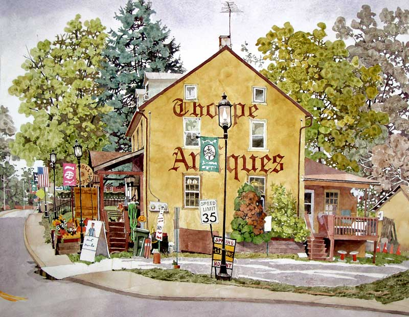 Thorpe Antiques Skippack, PA by Eddie Flotte