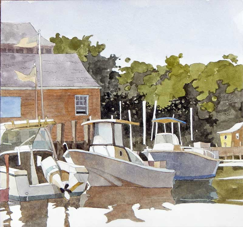 Tuckerton Seaport by Eddie Flotte