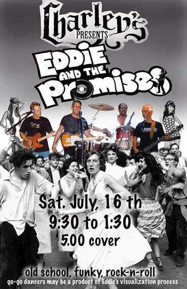Eddie and The Promises Charley's Poster