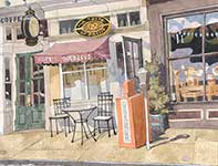 Painting by Eddie Flotte: A Taste Of Philly