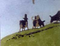 Painting by Eddie Flotte: A Most Adventurous Dairy Cow 01 Thumbnails