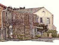 Painting by Eddie Flotte: Bolinas Museum and Thrift Shop