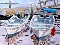 Painting by Eddie Flotte: Companionships Ocean City