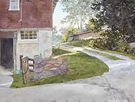 Painting by Eddie Flotte: Crackle Of Morning Sun