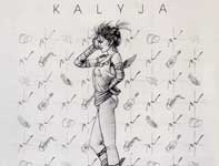 Painting by Eddie Flotte: Kalyja Record Cover