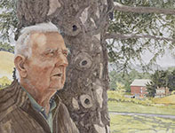 Painting by Eddie Flotte: Mr Kuerner Remembers