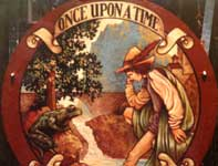 Painting by Eddie Flotte: Once Upon a Time
