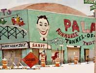 Painting by Eddie Flotte: Palace Amusements Asbury Park