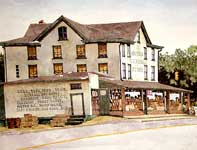 Painting by Eddie Flotte: Reedy's General Store