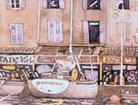 Painting by Eddie Flotte: Saint Tropez