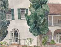 Painting by Eddie Flotte: Seabury Hall