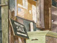 Painting by Eddie Flotte: Stars & Stripes Forever